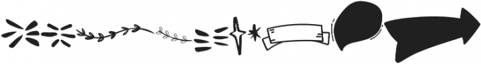 Walking Wind Doodle otf (400) Font UPPERCASE