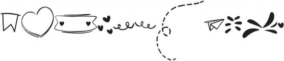 Walking Wind Doodle otf (400) Font LOWERCASE