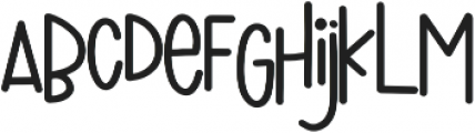 Walking Wind otf (400) Font LOWERCASE