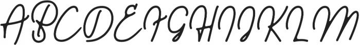Walkway otf (400) Font UPPERCASE
