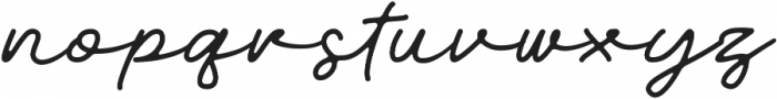 Walkway otf (400) Font LOWERCASE