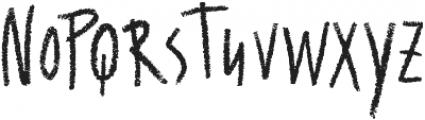 Wallet Chalk otf (400) Font UPPERCASE