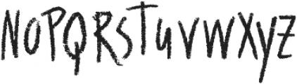 Wallet Chalk otf (400) Font LOWERCASE