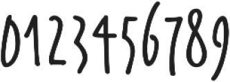 Wallet Felt otf (400) Font OTHER CHARS