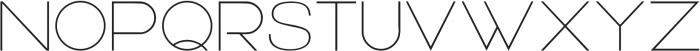 Wallflower ttf (400) Font UPPERCASE