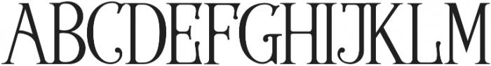 Wallington Pro otf (400) Font UPPERCASE