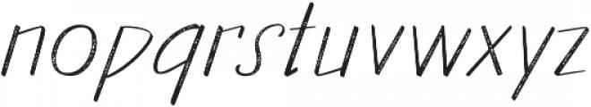 Walls Rough Thin otf (100) Font LOWERCASE