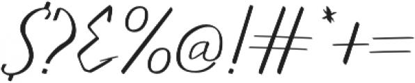 Walls Thin otf (100) Font OTHER CHARS