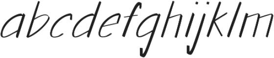 Walls Thin ttf (100) Font LOWERCASE
