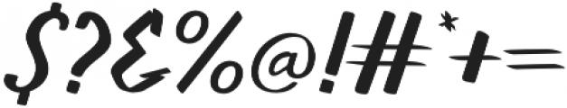 Walls otf (400) Font OTHER CHARS