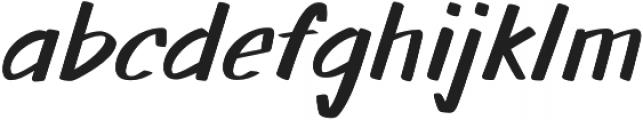 Walls otf (400) Font LOWERCASE
