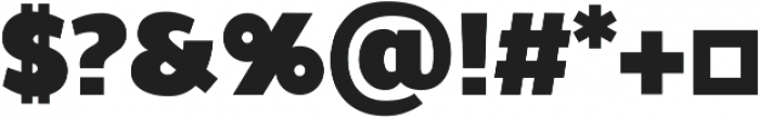 Walrus Bold ttf (700) Font OTHER CHARS