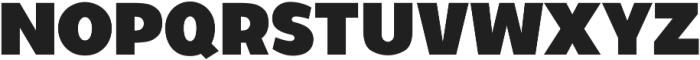 Walrus Bold ttf (700) Font UPPERCASE