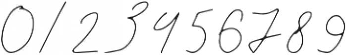 Wanda otf (400) Font OTHER CHARS