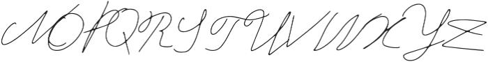 Wanda otf (400) Font UPPERCASE