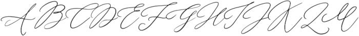 Wandering Hearts otf (400) Font UPPERCASE