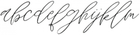 Wandering Hearts otf (400) Font LOWERCASE