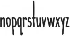 Wanderlust Bold otf (700) Font LOWERCASE