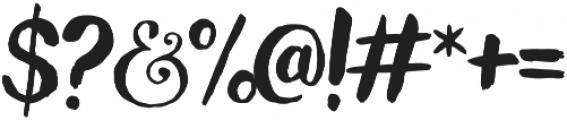 Wanderlust Decorative Regular otf (400) Font OTHER CHARS