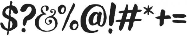 Wanderlust Letters otf (400) Font OTHER CHARS