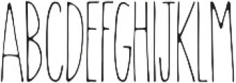 Wanderlust Light otf (300) Font UPPERCASE
