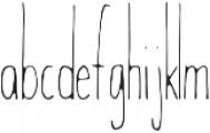 Wanderlust Light otf (300) Font LOWERCASE