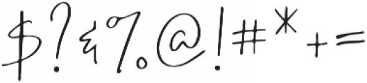 Wanderlust Script Alt otf (400) Font OTHER CHARS