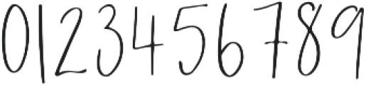 Wanderlust Script otf (400) Font OTHER CHARS