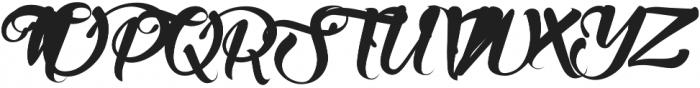 Wanih otf (400) Font UPPERCASE