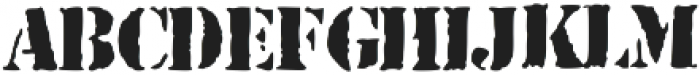 WarIsInTheAir ttf (400) Font UPPERCASE