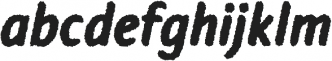 Warka Rough otf (400) Font LOWERCASE