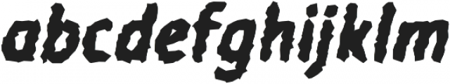 Warka Stoned otf (400) Font LOWERCASE