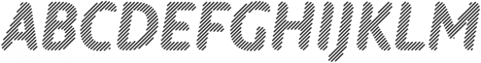 Warka Stripes otf (400) Font UPPERCASE