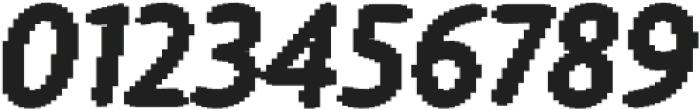 Warka blocks otf (400) Font OTHER CHARS