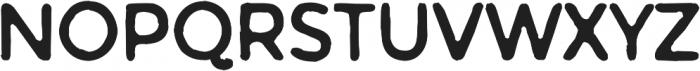 Warlow Sans Distorted otf (400) Font UPPERCASE