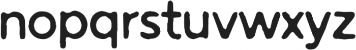 Warlow Sans Distorted otf (400) Font LOWERCASE