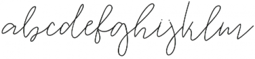 Warm Memories Regular Regular otf (400) Font LOWERCASE