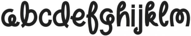 Warm Noodles Regular otf (400) Font LOWERCASE