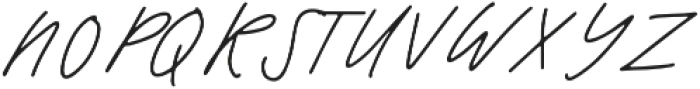 Warmth Script otf (400) Font UPPERCASE