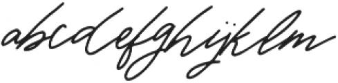 Warmth Script otf (400) Font LOWERCASE
