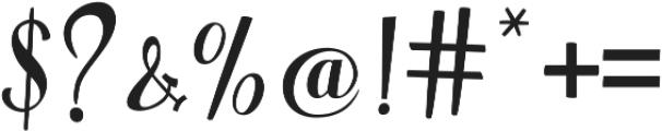 Warrior Script Regular ttf (400) Font OTHER CHARS