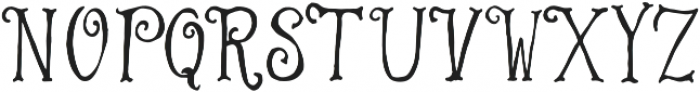 Warrior otf (400) Font UPPERCASE