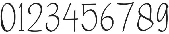 Warsini Regular otf (400) Font OTHER CHARS