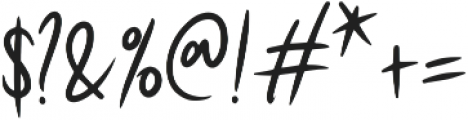 Wasabi ttf (400) Font OTHER CHARS