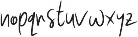 Wasabi ttf (400) Font LOWERCASE
