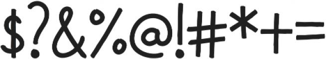 Washi Regular otf (400) Font OTHER CHARS