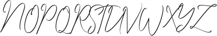 Washington DC otf (400) Font UPPERCASE