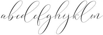 Washington Update Regular otf (400) Font LOWERCASE