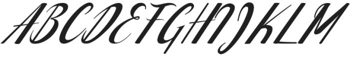 Waterbug ttf (400) Font UPPERCASE