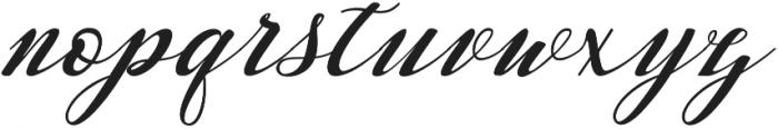 Waterbug ttf (400) Font LOWERCASE